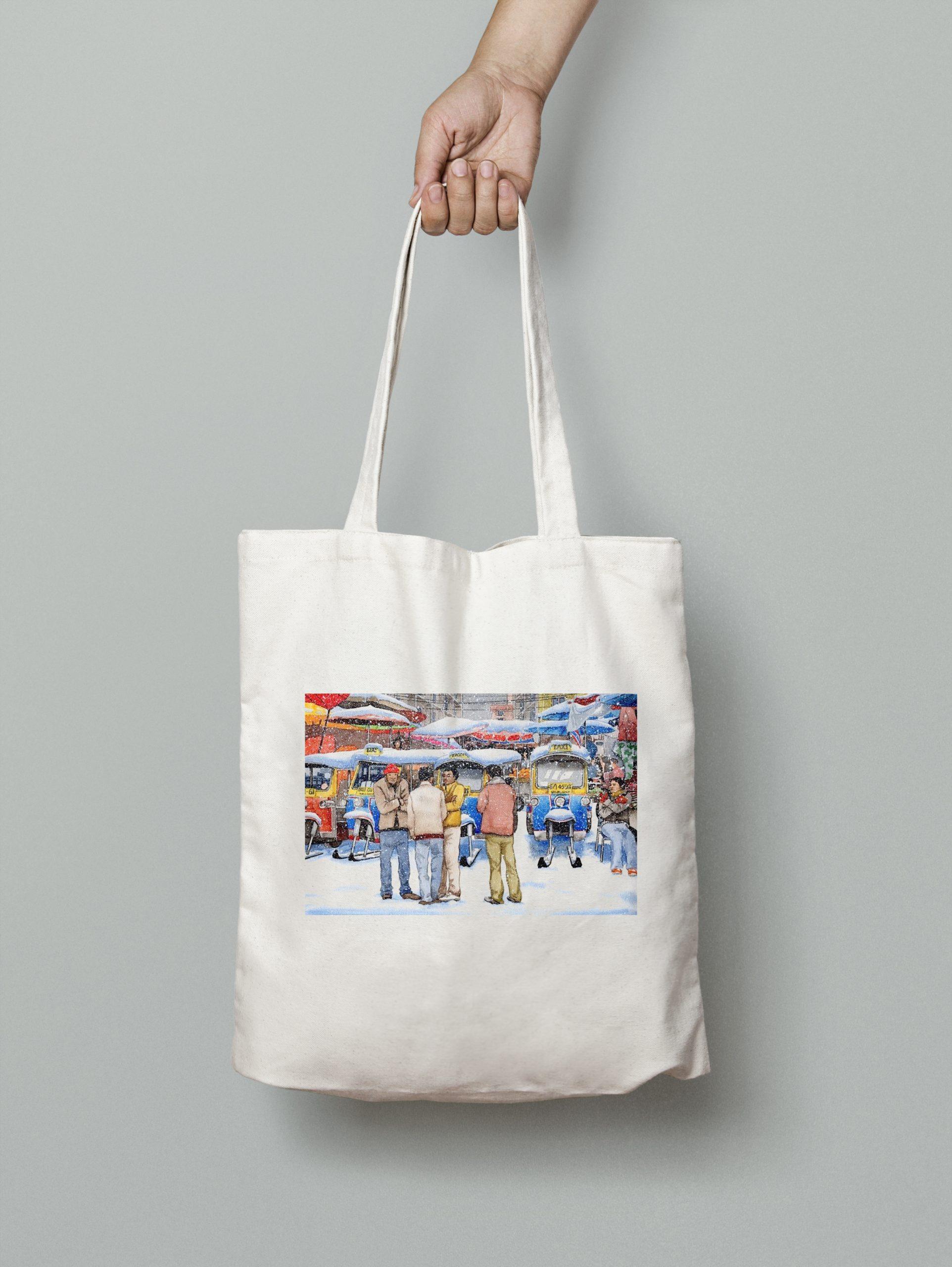 Tote Bag – Tuk Tuk Drivers