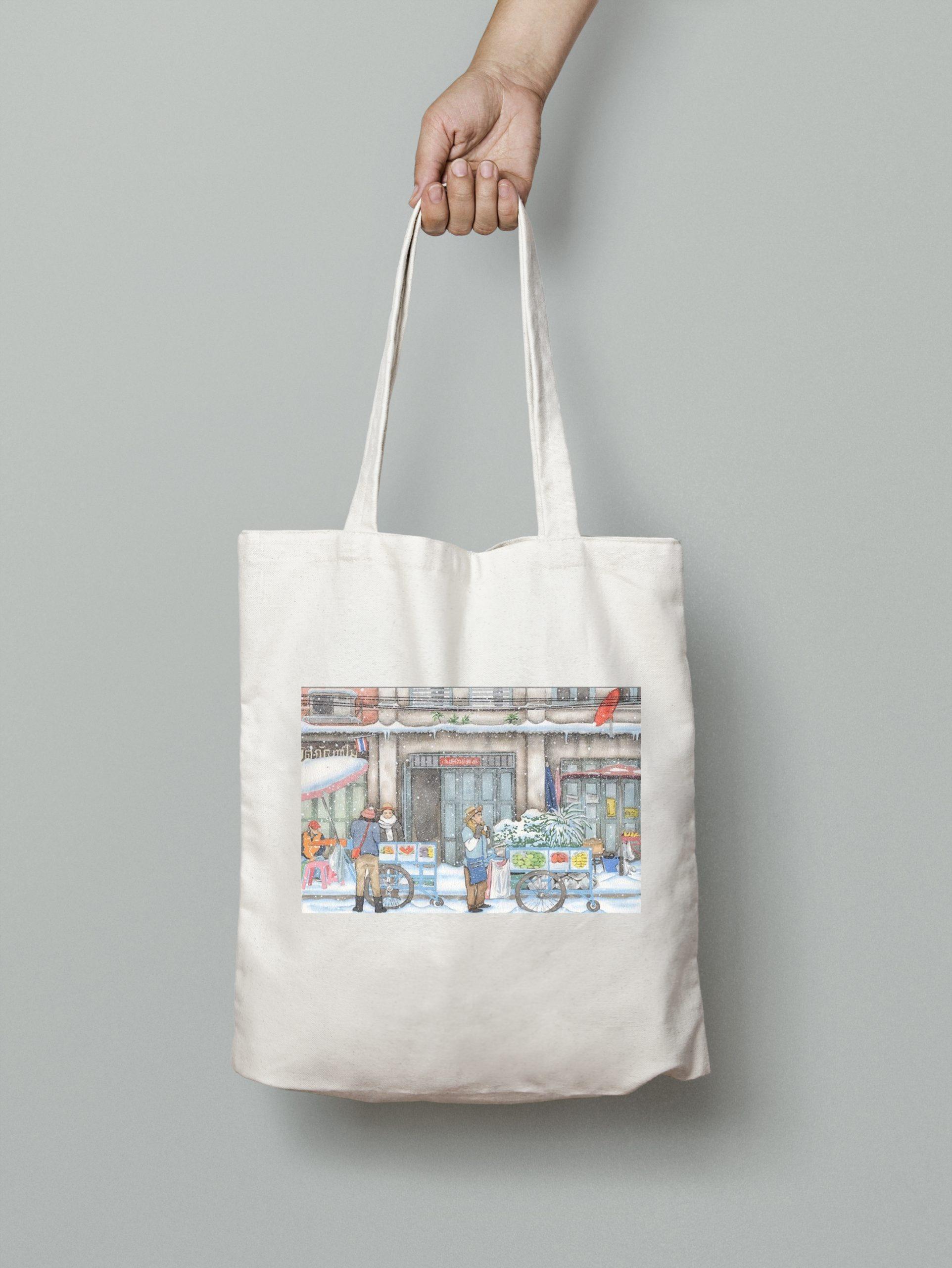 Tote Bag – Fruit Vendors