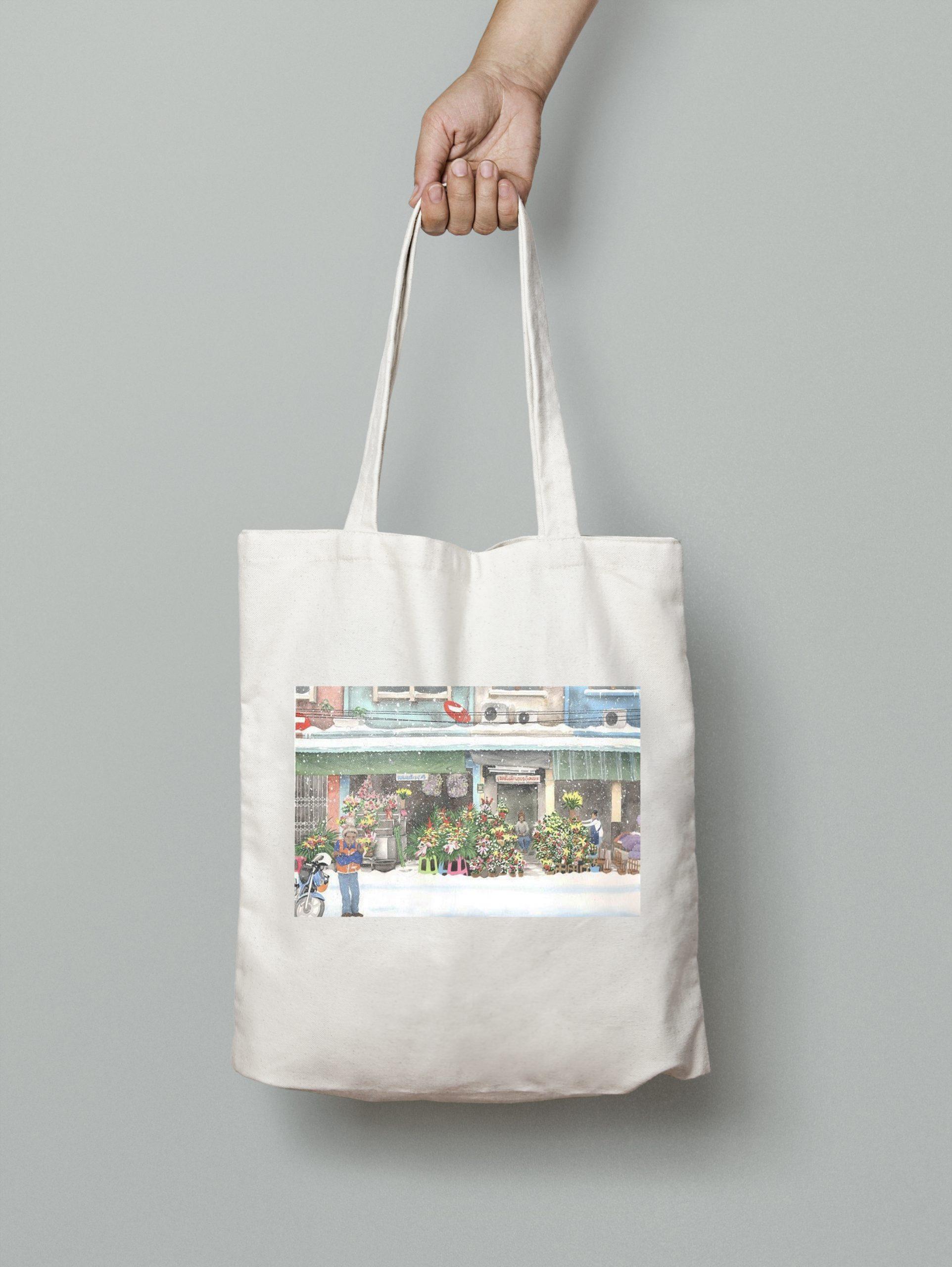 Tote Bag – Flower Shop