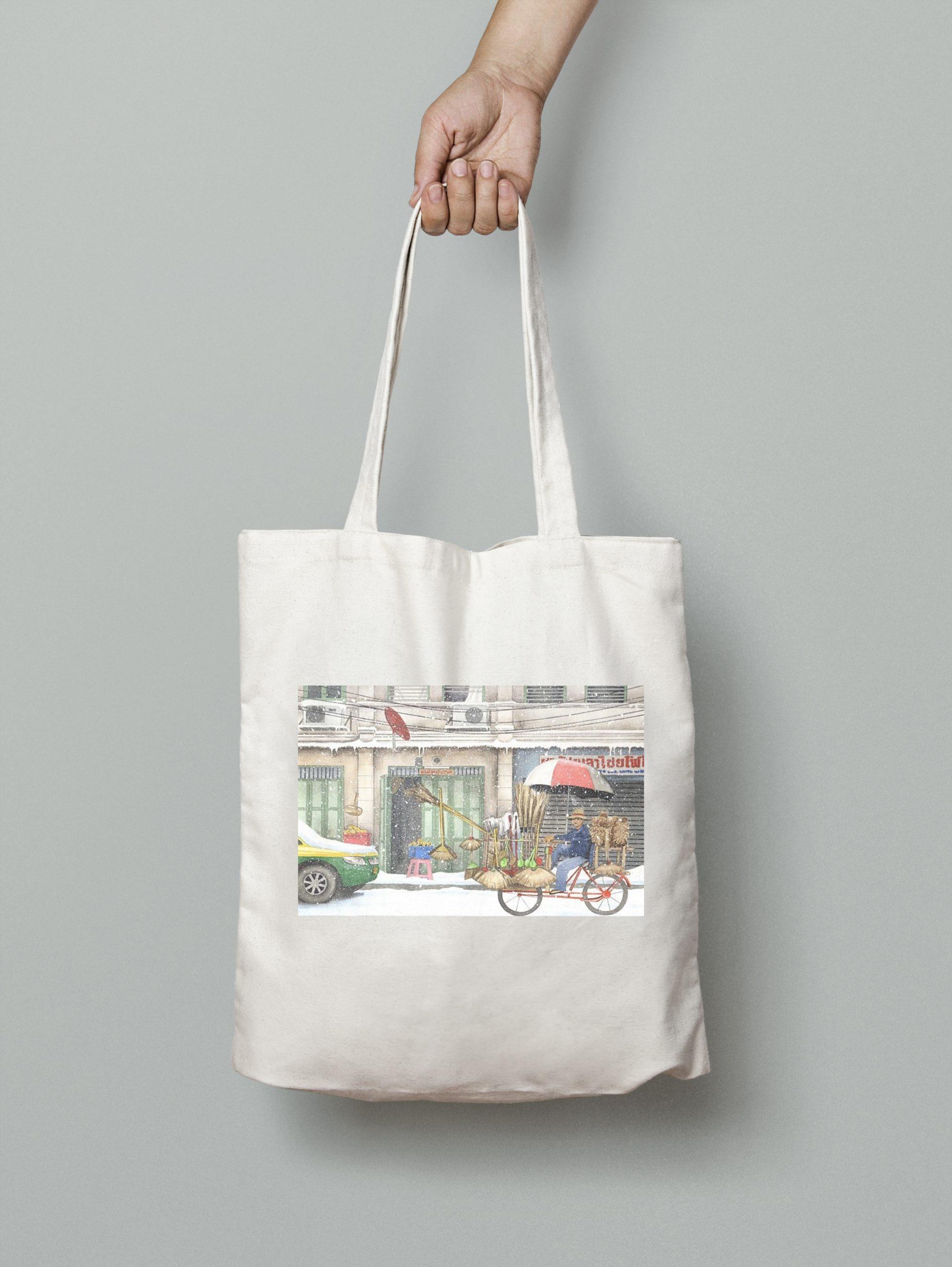 Tote Bag – Broom Seller